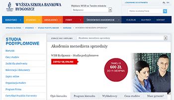 Akademia Menedżera Sprzedaży w Wyższej Szkole Bankowej w Bydgoszczy